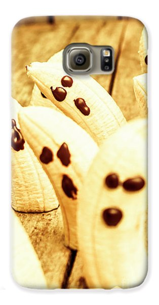 Halloween Banana Ghosts Galaxy S6 Case