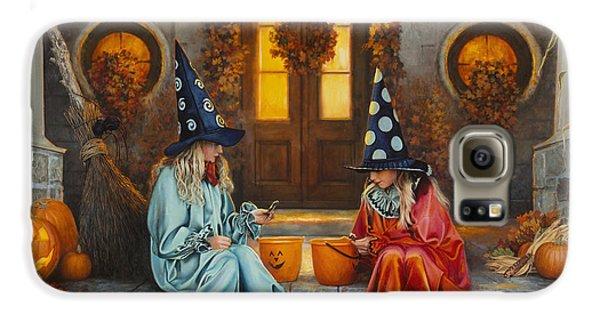 Halloween Sweetness Galaxy S6 Case by Greg Olsen