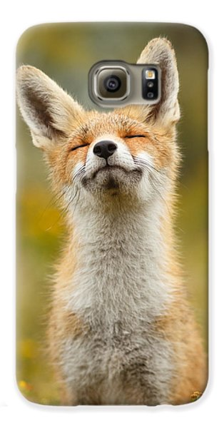 Happy Fox Galaxy S6 Case
