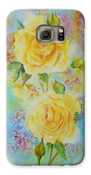 Happy Roses Galaxy S6 Case