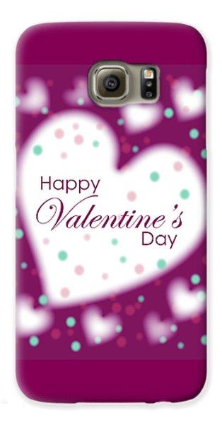 Happy Valentine's Day Galaxy S6 Case
