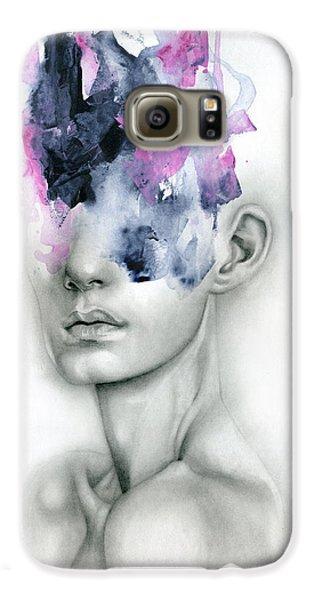 Portraits Galaxy S6 Case - Harbinger by Patricia Ariel