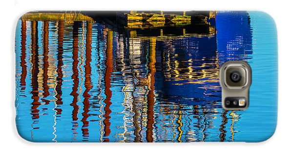 Harbor Reflections Galaxy S6 Case by Garry Gay