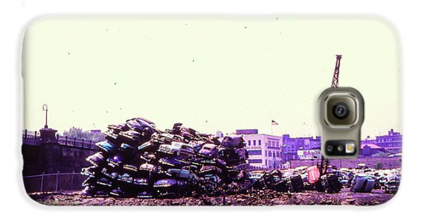 Harlem River Junkyard Galaxy S6 Case by Cole Thompson