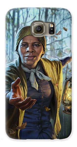 Train Galaxy S6 Case - Harriet Tubman by Mark Fredrickson