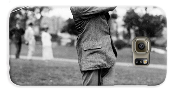 Harry Vardon - Golfer Galaxy S6 Case by International  Images