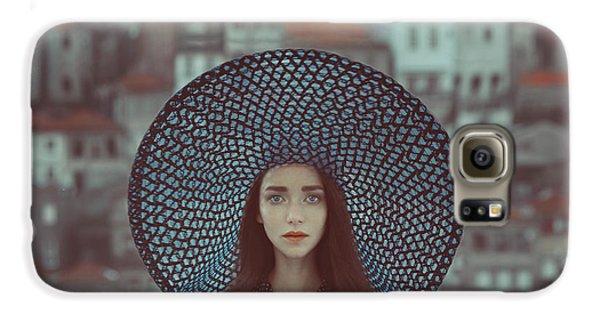 Portraits Galaxy S6 Case - Hat And Houses by Anka Zhuravleva