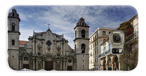 Havana Cathedral. Cuba Galaxy S6 Case