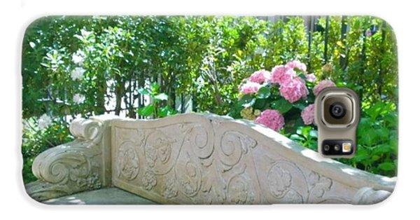 Have A Seat In My Secret Garden. #patio Galaxy S6 Case
