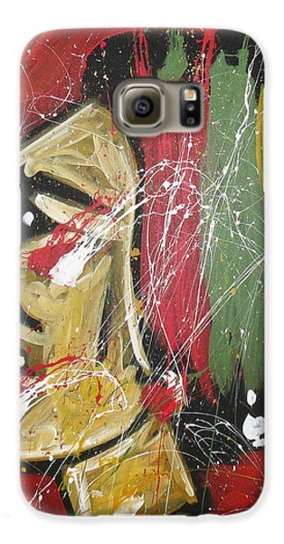 Hockey Galaxy S6 Case - Hawks by Elliott From