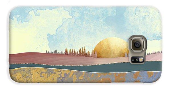 Landscapes Galaxy S6 Case - Hazy Afternoon by Katherine Smit