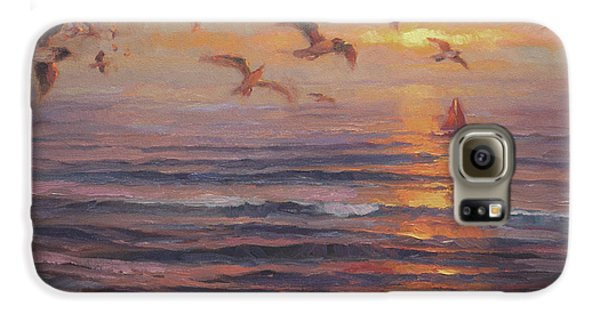 Seagull Galaxy S6 Case - Heading Home by Steve Henderson