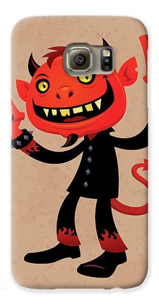 Heavy Metal Devil Galaxy S6 Case