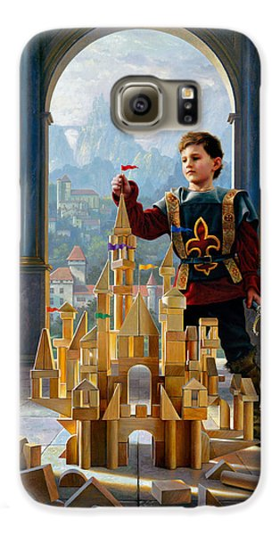 Knight Galaxy S6 Case - Heir To The Kingdom by Greg Olsen