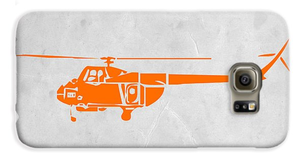 Airplane Galaxy S6 Case - Helicopter by Naxart Studio