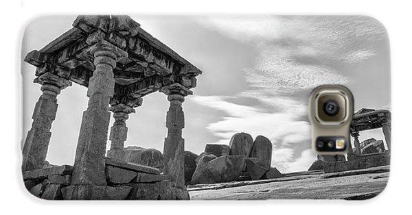 Galaxy S6 Case featuring the photograph Hemakuta Hill, Hampi, 2017 by Hitendra SINKAR