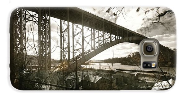 Henry Hudson Bridge, 1936 Galaxy S6 Case by Cole Thompson