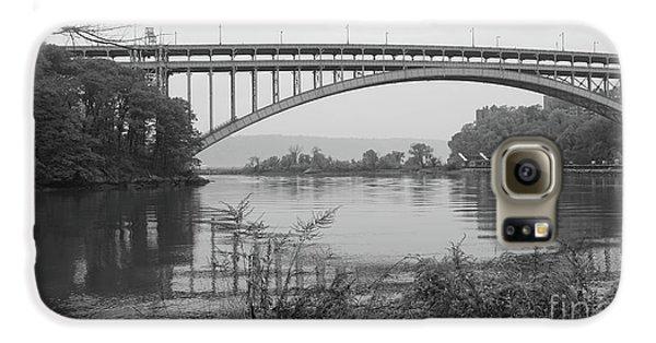 Henry Hudson Bridge  Galaxy S6 Case by Cole Thompson