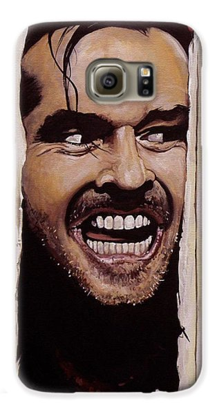 Here's Johnny Galaxy S6 Case by Tom Carlton