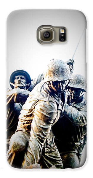 Washington D.c Galaxy S6 Case - Heroes by Julie Niemela