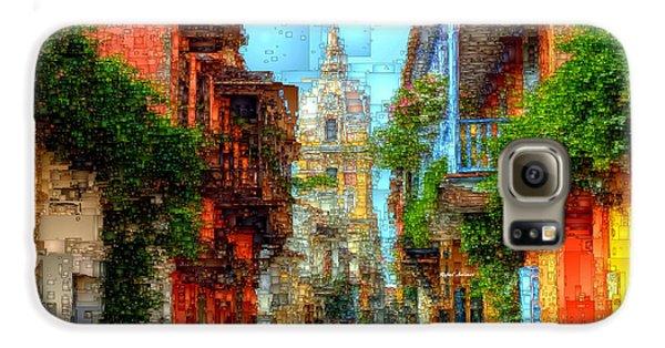 Heroic City, Cartagena De Indias Colombia Galaxy S6 Case