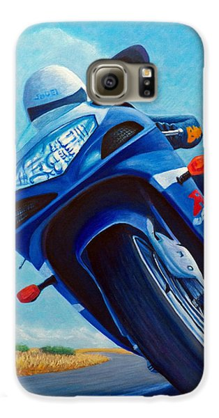 High Desert Pass - Suzuki Gsxr1000 Galaxy S6 Case by Brian  Commerford