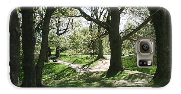 Galaxy S6 Case featuring the photograph Hill 60 Cratered Landscape by Travel Pics