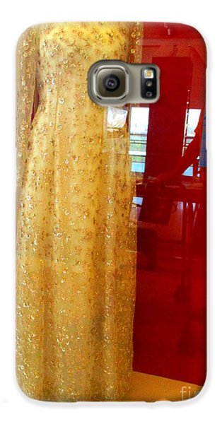 Hillary Clinton State Dinner Gown Galaxy S6 Case by Randall Weidner