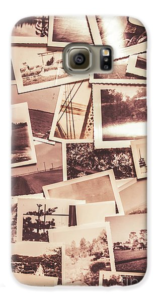 History In Still Photographs Galaxy S6 Case