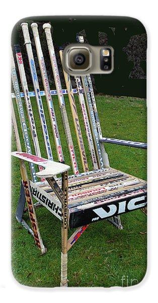 Hockey Stick Chair Galaxy S6 Case