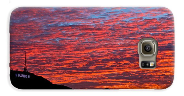 Hollywood Sunrise Galaxy S6 Case by Kim Wilson