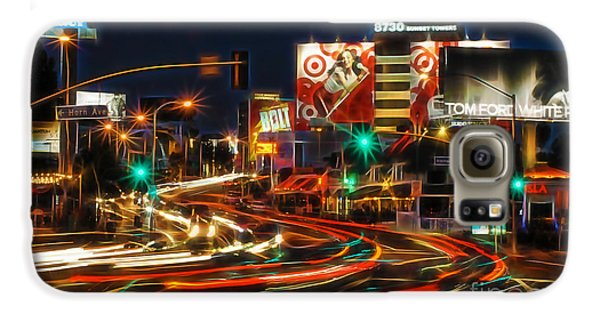 Hollywood Sunset Strip Galaxy S6 Case