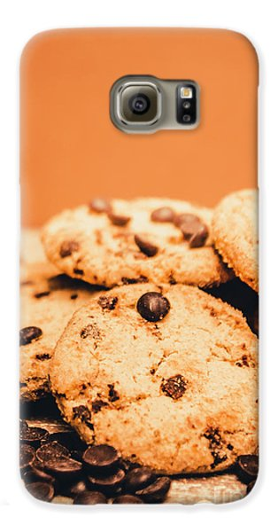 Home Baked Chocolate Biscuits Galaxy S6 Case