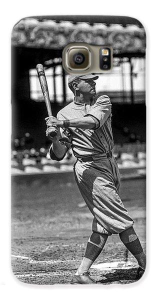 Home Run Babe Ruth Galaxy S6 Case