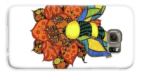 Honeybee On A Flower Galaxy S6 Case