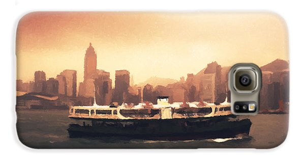 Hong Kong Harbour 01 Galaxy S6 Case by Pixel  Chimp
