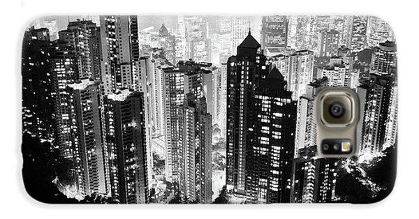 Hong Kong Nightscape Galaxy S6 Case by Joseph Westrupp