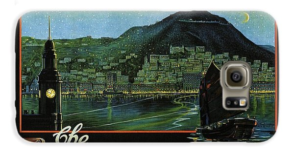 Hong Kong - The Riviera Of The Orient - Vintage Travel Poster Galaxy S6 Case