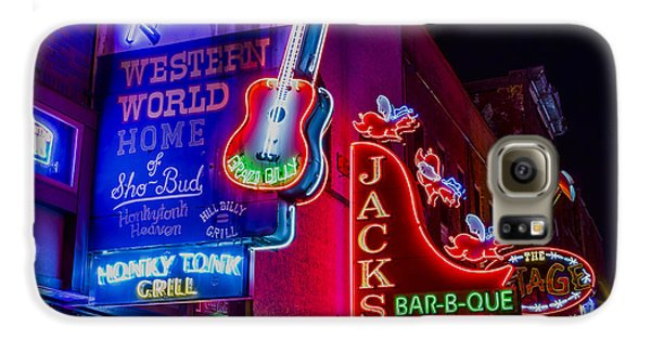 Honky Tonk Broadway Galaxy S6 Case by Stephen Stookey