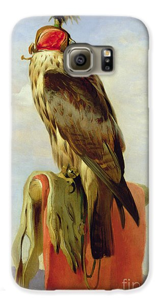Hooded Falcon Galaxy S6 Case by Sir Edwin Landseer