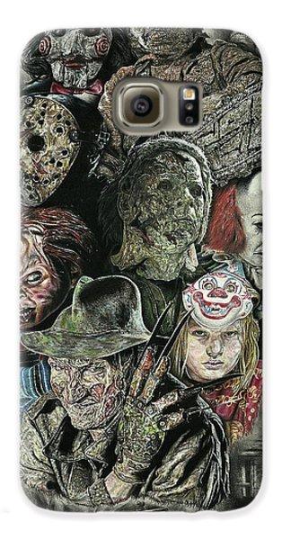 Horror Movie Murderers Galaxy S6 Case
