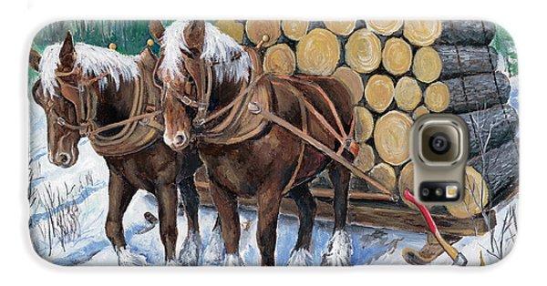 Horse Log Team Galaxy S6 Case
