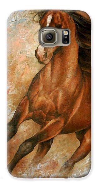 Horse Galaxy S6 Case - Horse1 by Arthur Braginsky