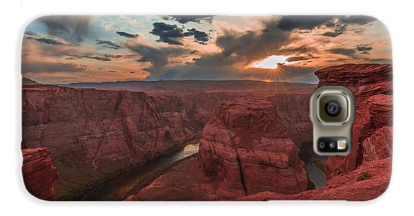 Horseshoe Bend Sunset Galaxy S6 Case
