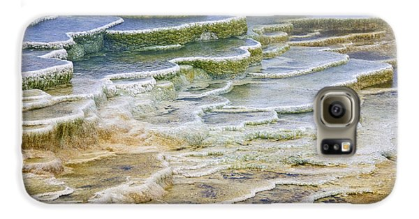 Galaxy S6 Case featuring the photograph Hot Springs Runoff by Gary Lengyel