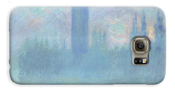 Houses Of Parliament  London Galaxy S6 Case by Claude Monet