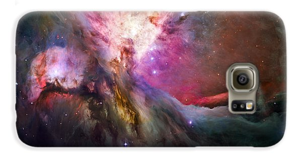Space Galaxy S6 Case - Hubble's Sharpest View Of The Orion Nebula by Adam Romanowicz