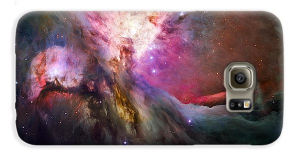 Hubble's Sharpest View Of The Orion Nebula Galaxy S6 Case by Adam Romanowicz