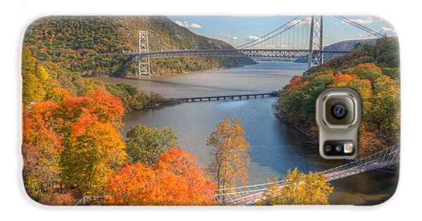 Hudson River And Bridges Galaxy S6 Case