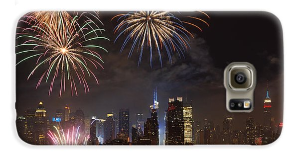 Hudson River Fireworks Iv Galaxy S6 Case